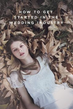 how to get started in the wedding industry