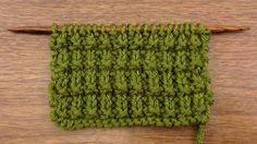 How to knit the ridged rib stitch