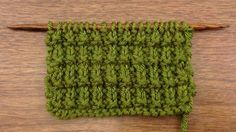 The Ridged Rib Stitch :: Knitting Stitch #59 :: New Stitch A Day