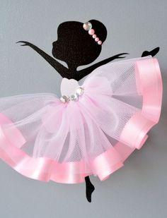 Красивое панно-балерина своими руками, мастер класс, идеи
