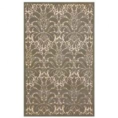 Our Modern Damask Silver rug will add a touch of updated sophistication to any bedroom, living room or home office. Utilizing different pile height and yarn types, maximizes the texture in this elegant accent rug.