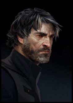 Corvo Attano - Dishonored 2 #Dishonored2 #Games #VideoGames #PC #PlayStation4 #XboxOne #rol #RolePlaying #Role #Action #Aventura #Adventure #CorvoAttano #EmilyKaldwin