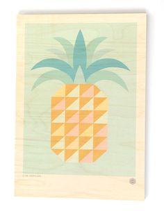 Club Tropicana Plywood Print – Greg Straight Shop
