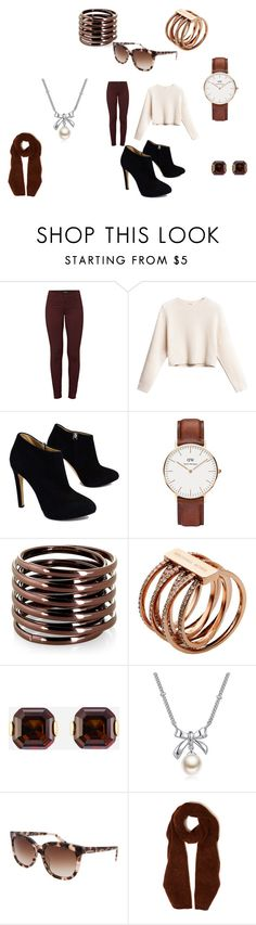 """Nice Cool Day"" by takalyn-fowler on Polyvore featuring J Brand, Giuseppe Zanotti, Daniel Wellington, Michael Kors, Henri Bendel, MBLife.com, Diesel and Acne Studios"