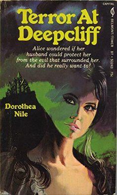 Terror at Deepcliff Fiction Novels, Pulp Fiction, Romance Novels, Horror Books, Horror Art, Vintage Horror, Vintage Gothic, Gothic Artwork, Gothic Books