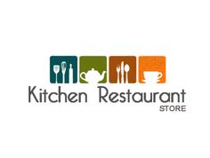 Kitchen Store Logo collective cooking | logos, kitchen logo and fonts