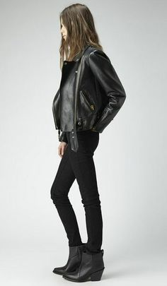 Rock 'n' Roll Style ☆ Acne Studios Donna Pointy Boot | La Garçonne