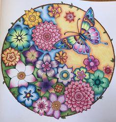 johanna basford magical jungle paint with prismacolor