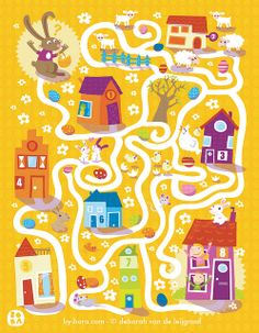 Easter Maze by Bora | Flickr - Photo Sharing!