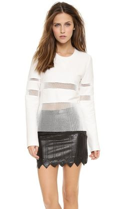 endless rose Netted Sweater