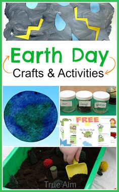 Earth Day Crafts and Activities for Preschool!