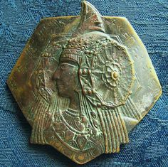 Lady of Elche bronze plate find in Utah, USA