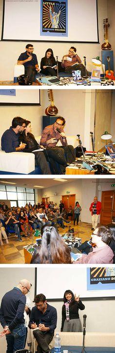 """Palantonello   Presentazione del romanzo """"Little Olive"""" di Graziano Delorda"""