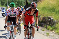 Tejay Van Garderen Pierre Rolland of France and Team Europcar (L) and Tejay van Garderen of the United States and BMC Racing Team  in action during stage twenty of the 2013 Tour de France, a 125KM road stage from Annecy to Annecy-Semnoz, on July 20, 2013 in Annecy, France.