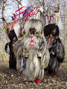 Kurentovanje is one of the most ethnologically significant Slovenian carnival festivals. The main figure, called Kurent or Korent, wears a massive sheepskin garment and a chain with huge bells around its waist, resulting in the noise the function of which is to chase away winter. (photo form the Wildermann series by Charles Fréger)