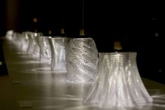 Caustic patterns of 3D printed glass structures (Image Credit for this Series: Andy Ryan)