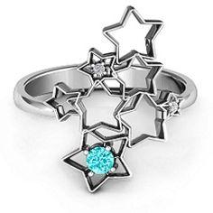 Sparkling Constellation Ring #jewlr