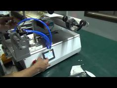using instruction on how to operate semi-automatic labeling machine for ...