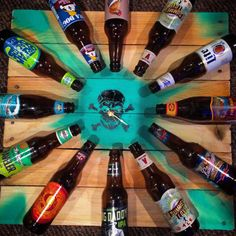 Beer O'clock Handmade Beer Clock Pallet Decor by ThirtySevenMain