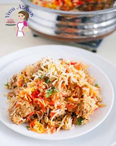 Have you even wondered how to make Chicken Biryani? This simple, easy and effortless recipes will probably make the easiest Indian Chicken Biryani recipe using boneless chicken and easy to find spicesthat you can relate to. This post simplifies the process in three easy to understand steps so you will enjoy making this classic one pot dish. Easy Chicken Biryani Recipe, Chicken Recipes, Asian Recipes, Mexican Food Recipes, Ethnic Recipes, Yogurt Marinated Chicken, Dum Biryani, Indian Chicken, One Pot Dishes