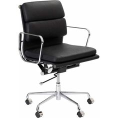 management leather office chair eames replica red