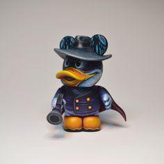Darkwing Duck custom vinylmation by Jaredcircusbear
