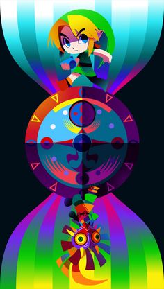 Majoras Mask Poster by hollyfig.deviantart.com on @DeviantArt