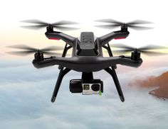 The new 3D Roboitcs Solo Quadcopter. Made specifically for GoPro cameras with a 3 axis gimbal. Orbit and follow me mode plus many more new features. This drone is adaptable so you won't need to replace it in a short time.