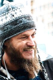"""loving people doesn't save them — Travis Fimmel as """"Guy"""" in Maggie's Plan"""