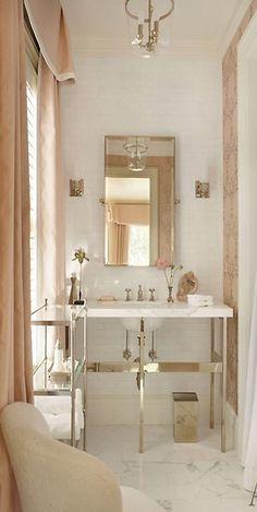 inspired palette #14 - blush + gold | cynthia reccord