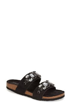 d8661bdc2b14 Kendall & Kylie Madden Girl Embellished Double Strap Sandal (Women)  available at #