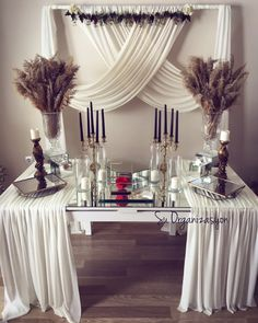 Bridal Shower Decorations, Wedding Decorations, Desert Table, Engagement Decorations, Creation Deco, Before Wedding, Wedding Pinterest, Deco Table, Decoration Table