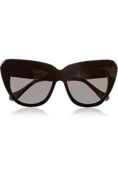 bd7f2e2a1a721 Illesteva - Brigitte cat-eye acetate sunglasses. Óculos ...