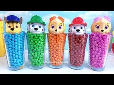 Paw Patrol Chocolate Candy Learn Colors Toy Surprise Eggs Dinosaur Finger Family Song Nursöery Rhyme - YouTube