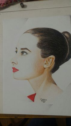 Audrey Hepburn por Natália Pessini.
