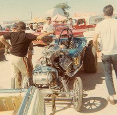 """""""Rat Trap"""" AA Fuel Altered, Tulsa World Finals 1968"""