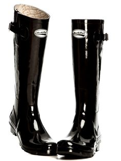 Rockfish Boot Gloss Black