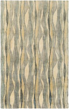 Surya Natural Affinity NTA1004 Neutral/Yellow Modern Area Rug