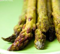 lemon pepper roasted asparagus.