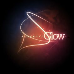 Photoshop Advanced Glow Text Effect