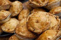Freshly baked pies from Lochinver Larder, Lochinver & Assynt, Scotland