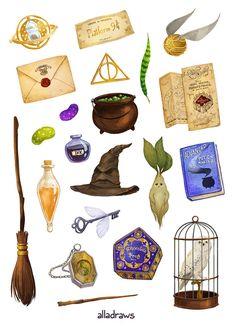 Harry Potter sticker set high quality print - art sticker in . - Harry Potter sticker set high quality printing – art stickers in … Harry Potter stickers set hi - Harry Potter Fan Art, Harry Potter Tattoos, Stickers Harry Potter, Harry Potter Printables, Cute Harry Potter, Images Harry Potter, Harry Potter Drawings, Harry Potter Tumblr, Harry Potter Quotes