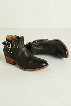 Bora Buckle Booties from Anthro