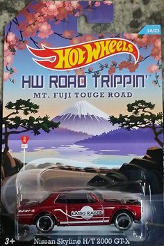 Hot Wheels 2015 Road Tripping Nissan Skyline H/T 2000 GT-X