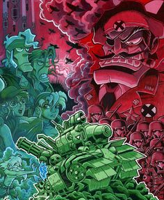 Resultado de imagen para metal slug official artwork poster