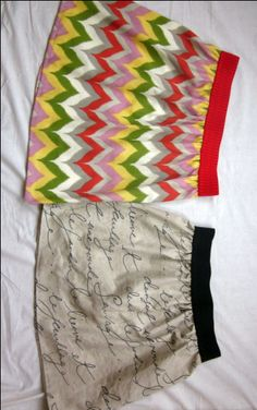 The Easiest Skirt in the World (x2)   handmademess