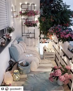 Examples of Small Balcony Decoration, balconies furnitures, we have prepared great ideas for those with small balconies. More than 100 examples for small balcony decoration. My balconies are very . Apartment Balcony Decorating, Apartment Balconies, Apartment Living, City Apartments, Apartment Porch, Apartment Ideas, Porch Decorating, Decorating Small Apartments, Decorating Tips