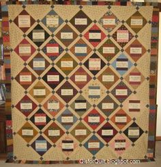 Here it is - my daughter's birthday signature quilt top! The quilt blocks were signed by women in our church who also added a favori. Signature Quilts, Quilt Top, 30th Birthday, Quilt Blocks, Quilt Patterns, Memory Quilts, Friendship, Quilting, Inspiration
