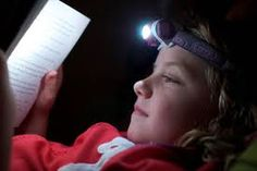 How to read a book with a flashlight