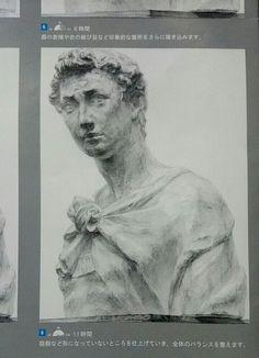 ジョルジョ デッサン 石膏像 Drawing dessin Plaster figure